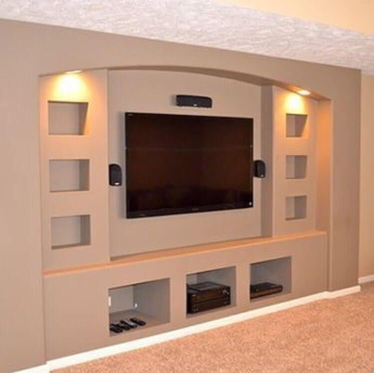 Modern TV Wall Unit Decoration Design Ideas In 2020