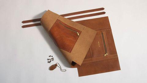 Tasman Leather Tote Bag 1.0 (Tan)