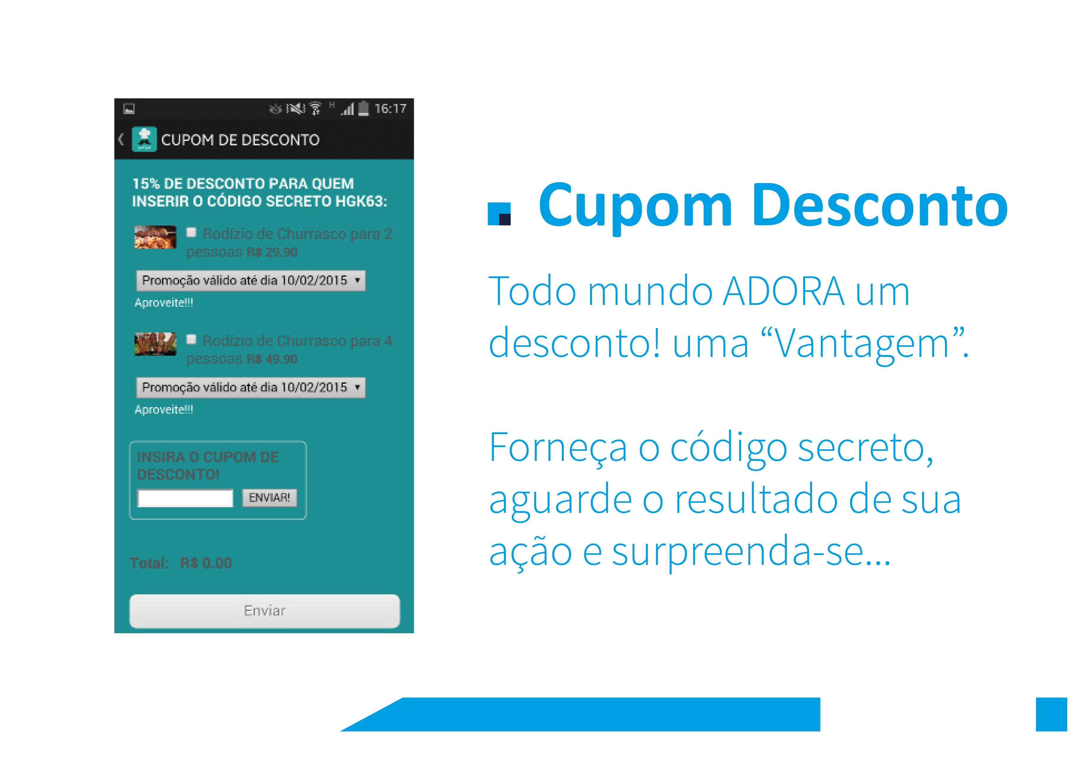 Cupon Desconto
