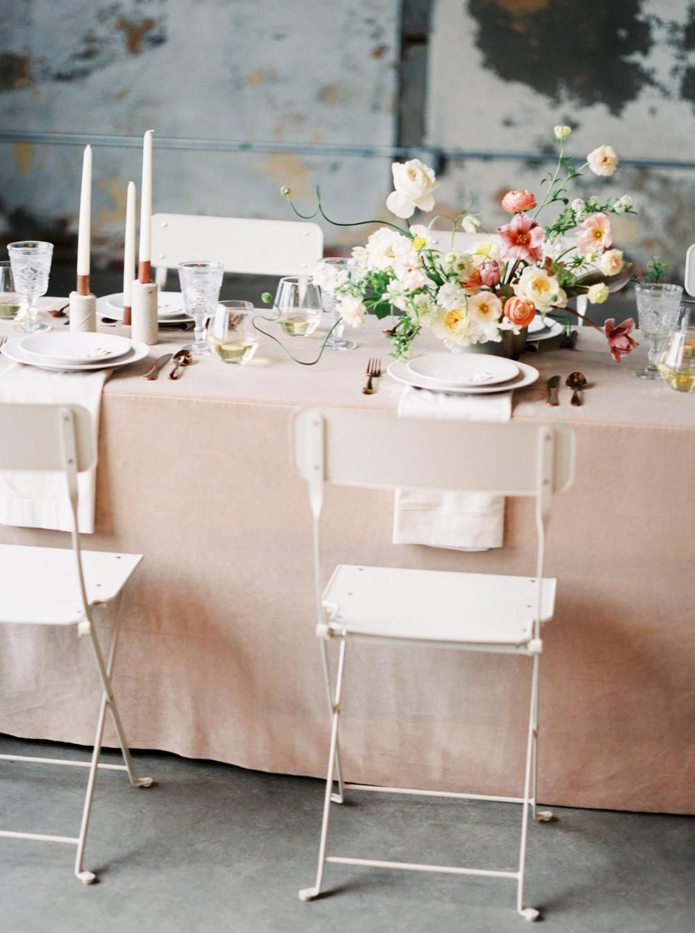 Industrial Chic Wedding Inspiration At Strongwater Events In Columbus Ohio Industrial Chic Wedding
