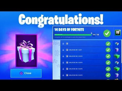 14 Days Of Fortnite Challenges Guide For Free Rewards And