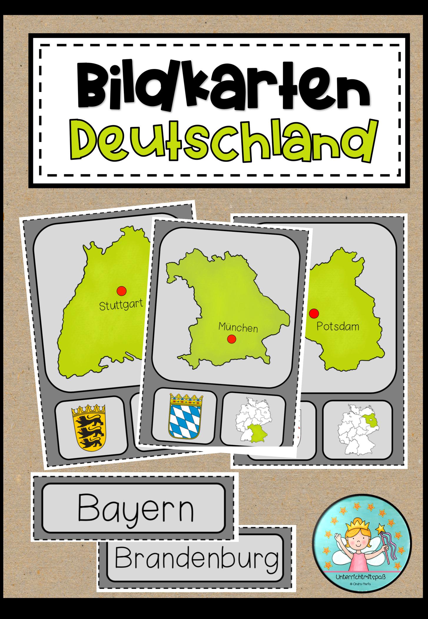 Deutschland Unterrichtsmaterial