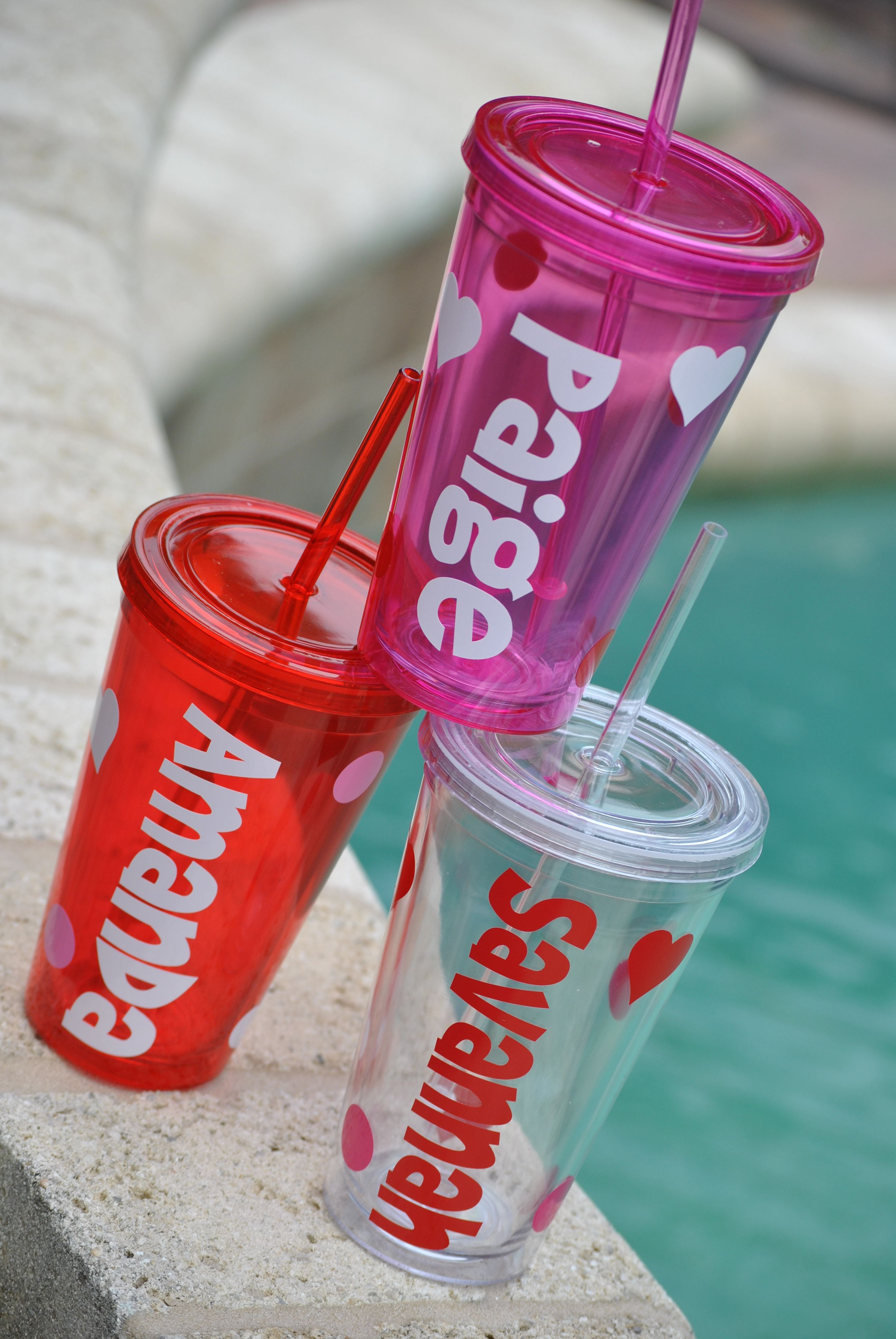 Valentine S Day Or Everyday Personalized Tumblers