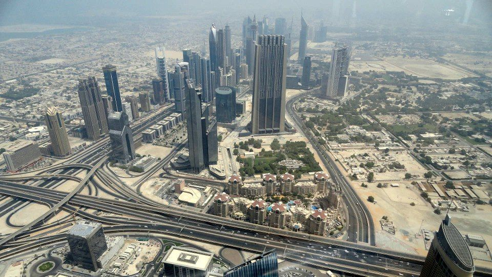 Stunning Panorama From the Tallest Building in the World - Burj Khalifa