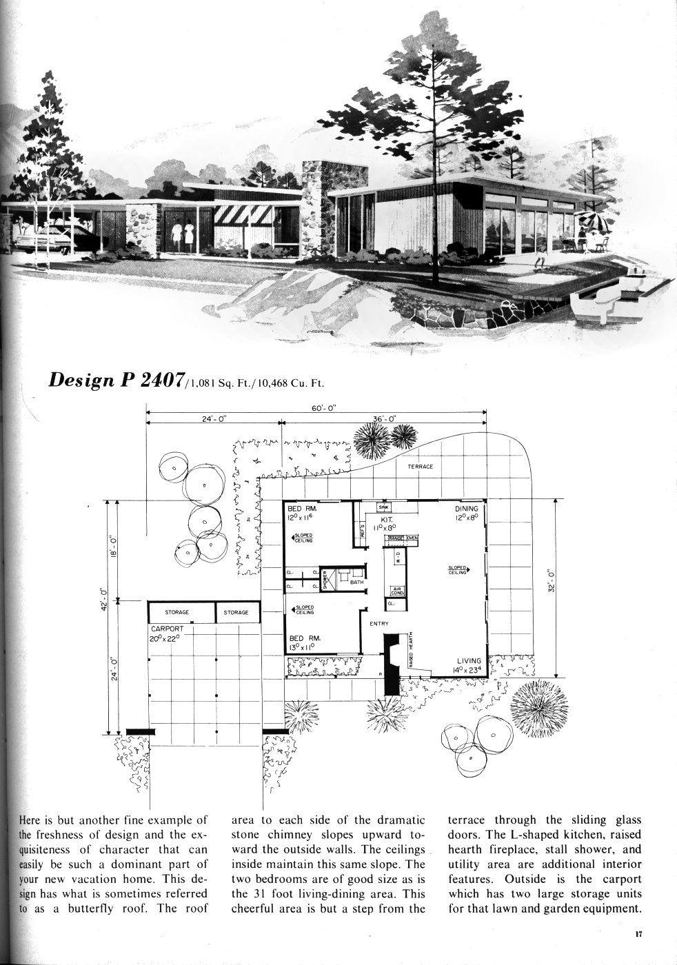 Mid Century Modern! Turn carport into full garage. Expand