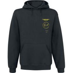 Photo of Twenty One Pilots Title Herren-Kapuzenpullover – schwarz – Offizielles Merchandise