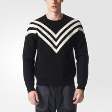 adidas - Men's White Mountaineering 3-Stripes Sweater