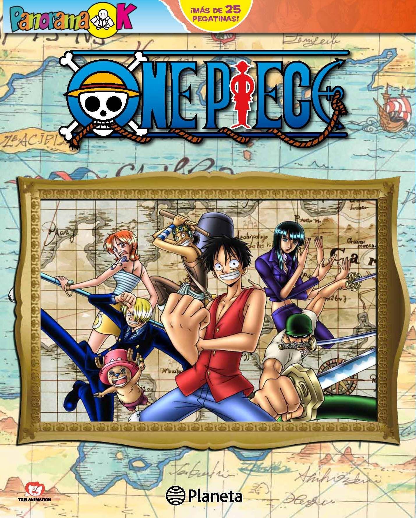 ONE PIECE PANORAMA K. - En poco tiempo, Luffy reuni a una ...
