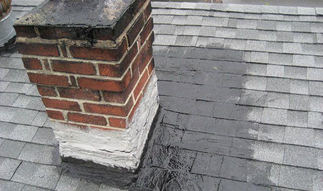 Repair Roof Leak Around Chimney In 2020 Leaking Roof Roof Leak Repair Emergency Roof Repair