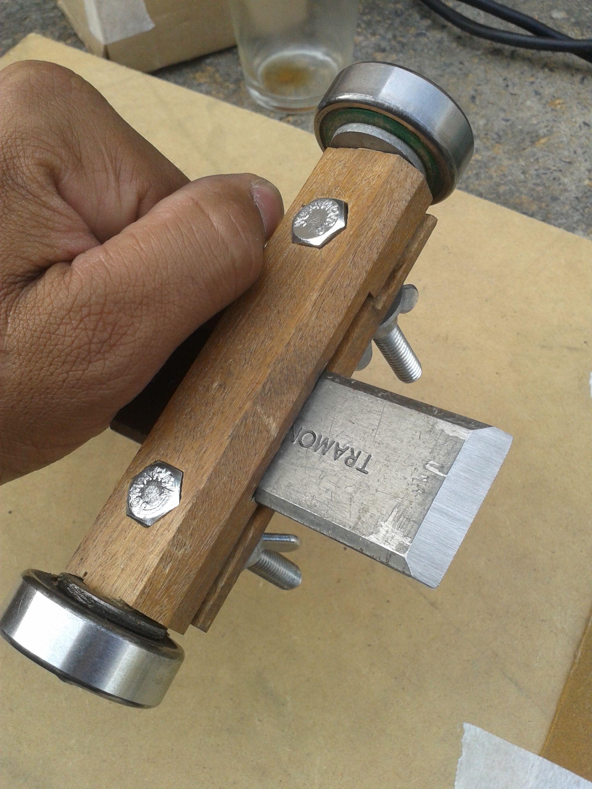 vorrichtung zum stechbeitel schärfen | vorrichtungen