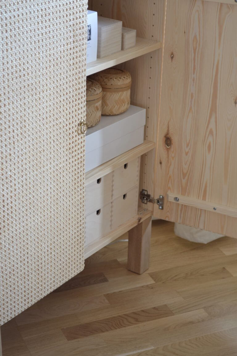 Ikea Mobili In Vimini missed out on the stockholm rattan cabinet? make this