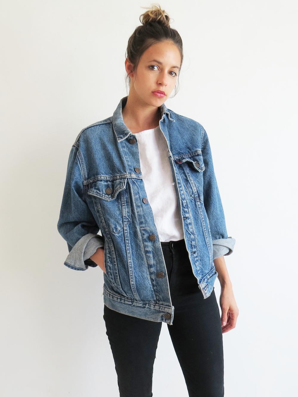 Levis Denim Jacket // Vintage Jean Jacket | A R C H I V E ...