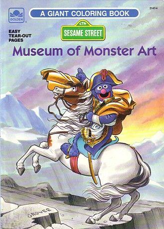 Museum Of Monster Art Monster Art Art History Cartoon