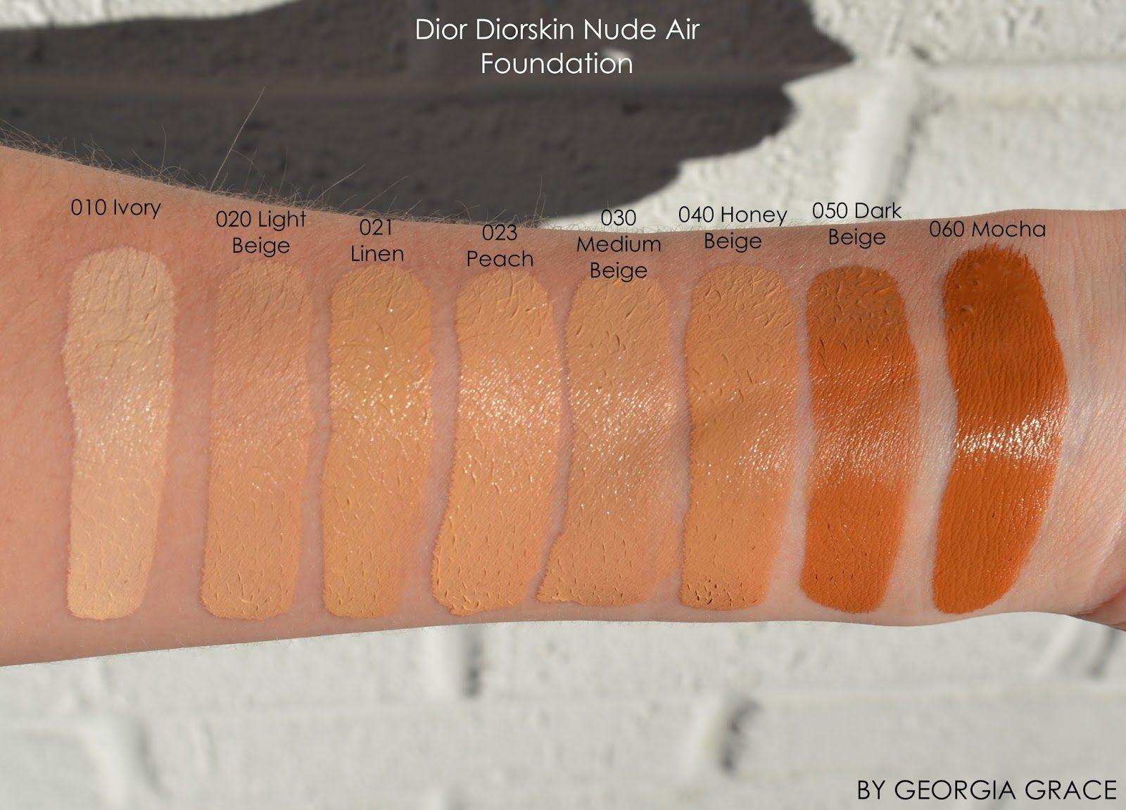 Dior nude foundation reviews