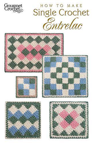 Ravelry How To Make Single Crochet Entrelac Patterns Tunisian
