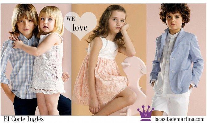 moda infantil corte ingles