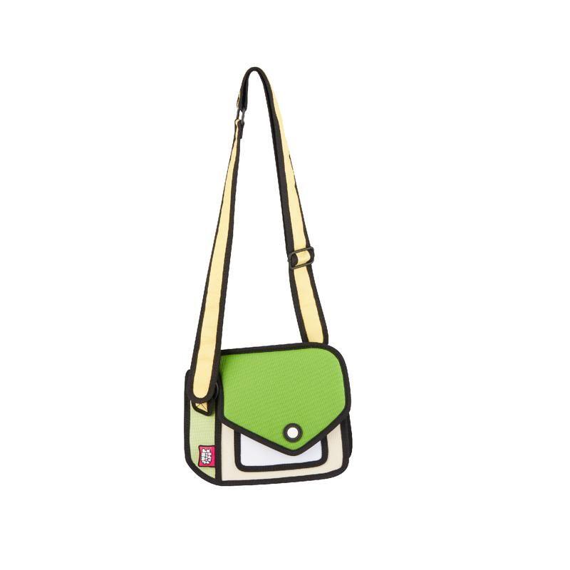 Junior Giggle Greenery Shoulder Bag   JumpFromPaper 2D design ... 1e8ee791ef