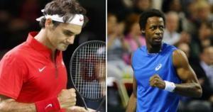 Federer buscará superar sus dolores en la espalda y vencer a Gael Monfils. Noviembre 21, 2014.