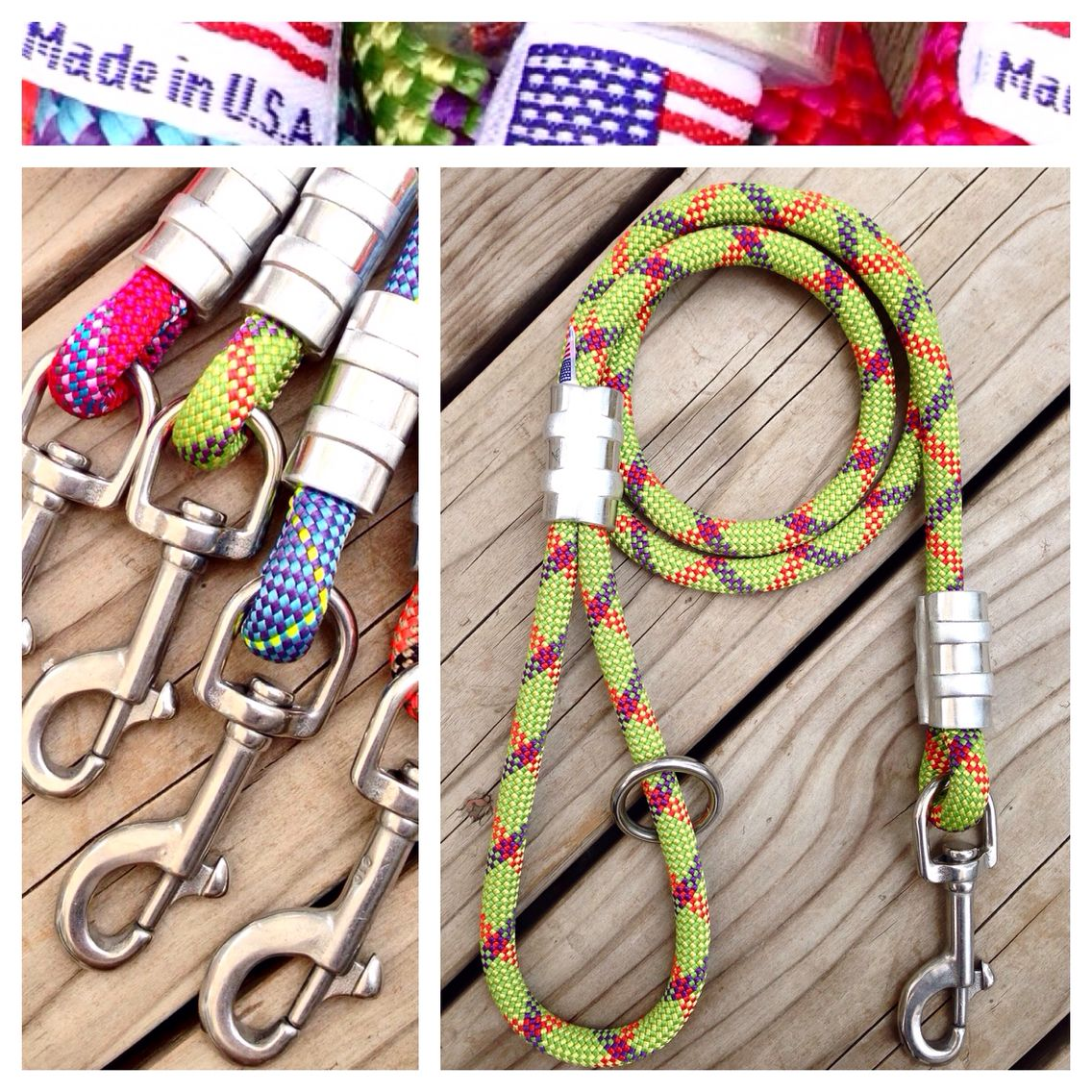 Rugged And Built To Last Our Climbing Rope Dog Leashes Are Among