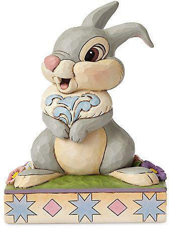 674386980b91b Thumper Figure by Jim Shore - Bambi - 75th Anniversary Figurine Disney,  Disney Home Decor