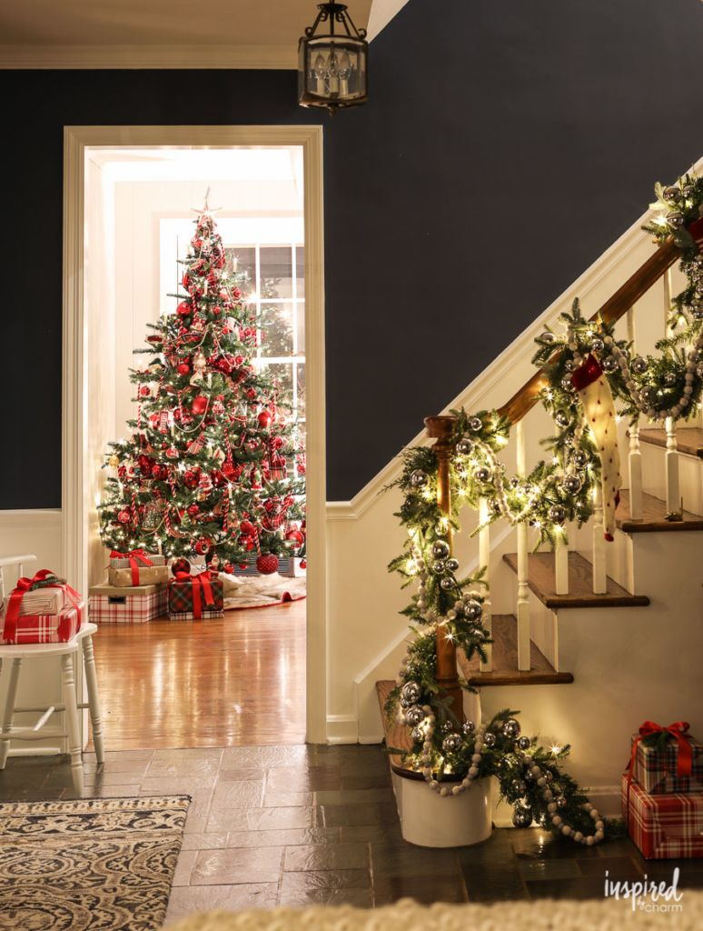 100 Creative Christmas Ideas Evening At Bayberry House Christmas 2018 Christmas Holi Holiday Decor Christmas Holiday Decor Classic Christmas Decorations