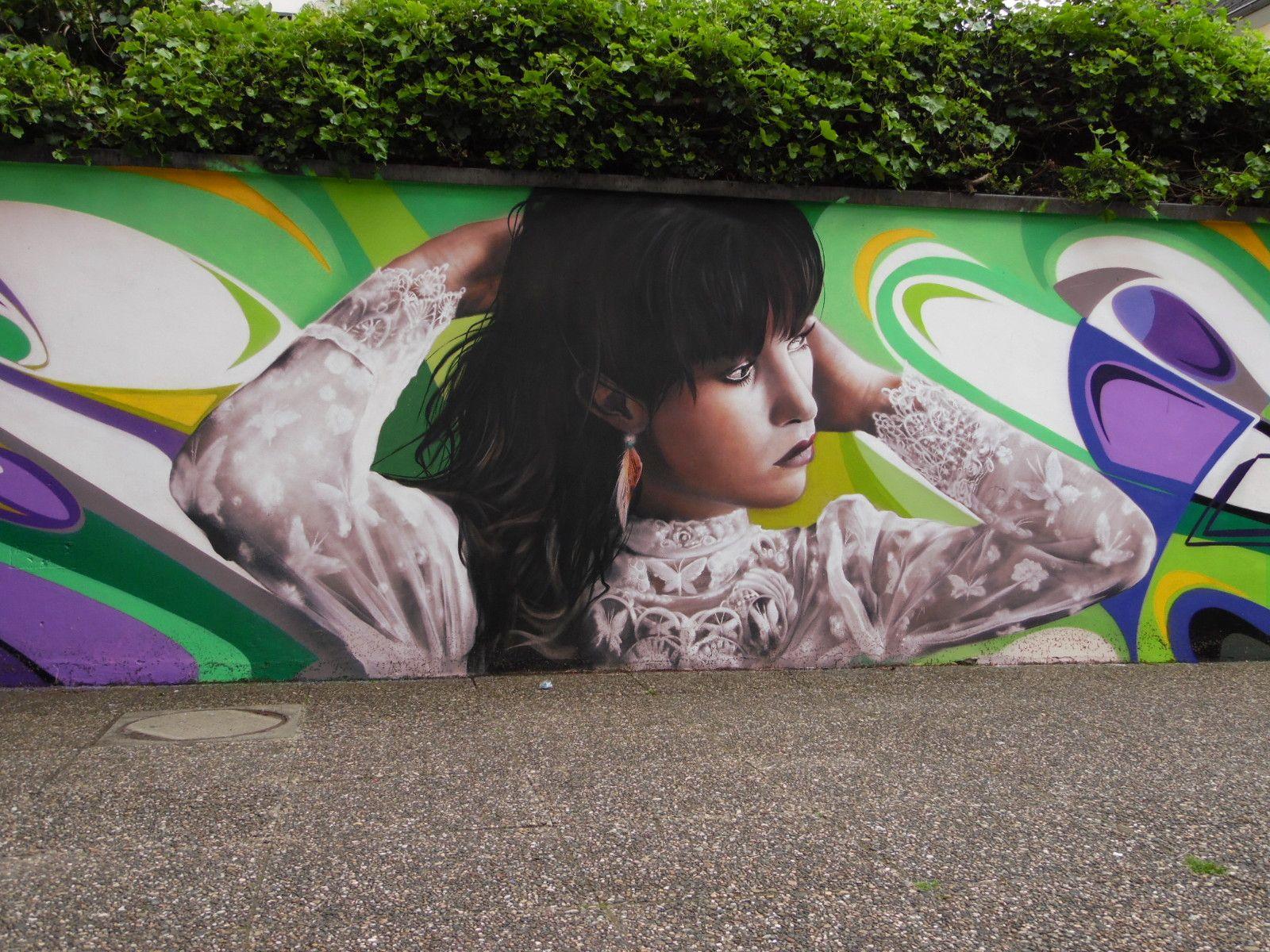 Streetart Trier, Mergener Hof