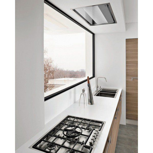 """25 Captivating Ideas For Kitchens With Skylights: 38"""" Skylight Ceiling/Soffit"""