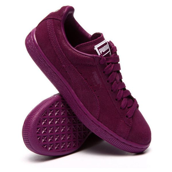 9deba646130 suede classic matte shine sneakers by Puma ( 65) ❤ liked on Polyvore  featuring shoes