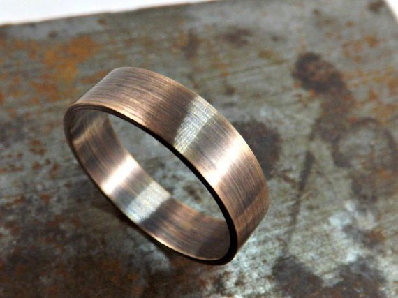 Mens Bronze Wedding Band Google Search Rustic Wedding Rings Bronze Wedding Mens Wedding Rings