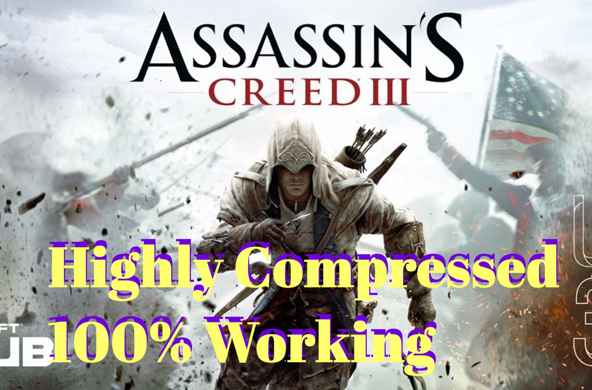 Assassin Creed 3 Highly Full Compressed Download Working Assassins Creed Assassins Creed 3 Assassin