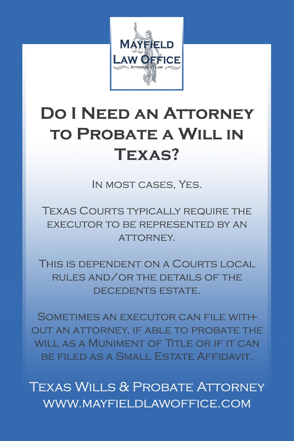 Estate Planning Administration In Texas Probate Estate Planning Texas