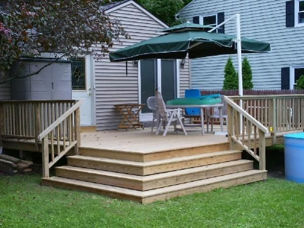 Best Stairs Off Decks Question On Outside Corner Stairs Deck1 400 x 300