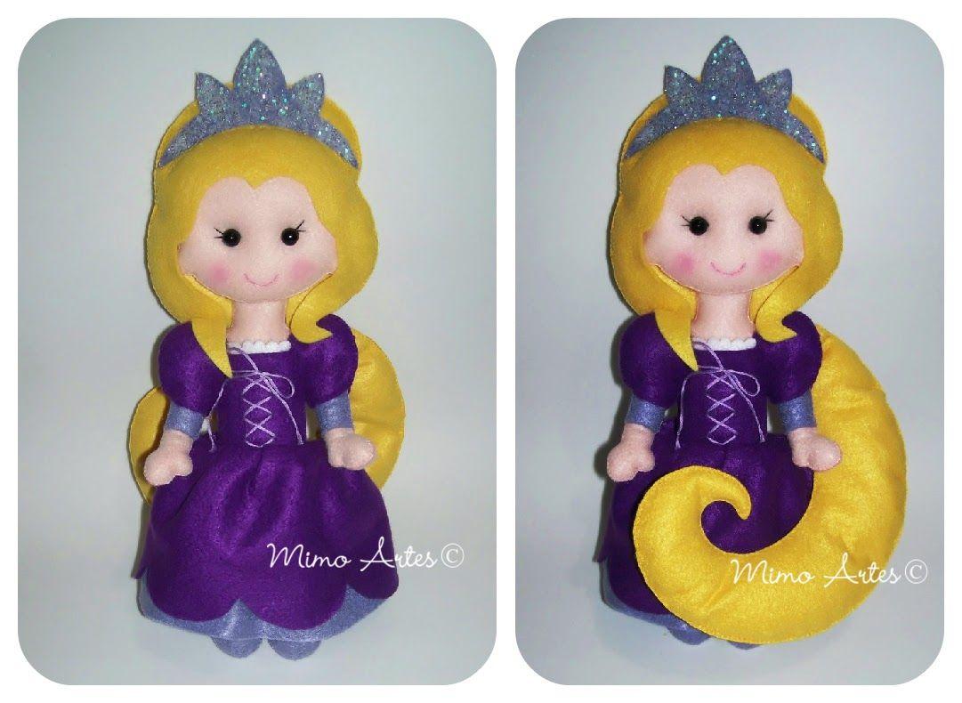 15 Anos Dolls: Mimo Artes: Princesa Rapunzel