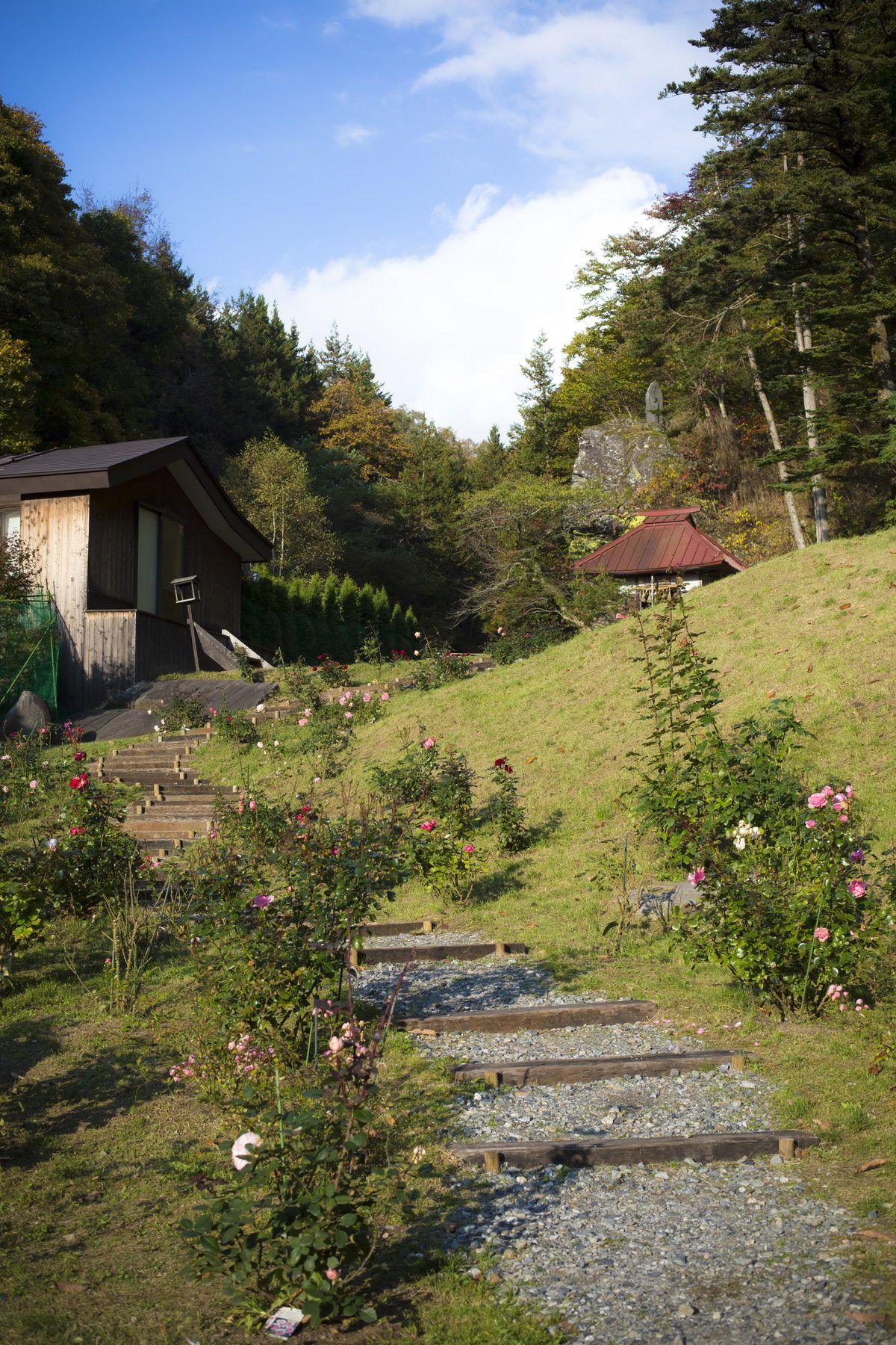 星降るガーデン 自然散策をお楽しみいただけます 温泉 自然 ガーデン