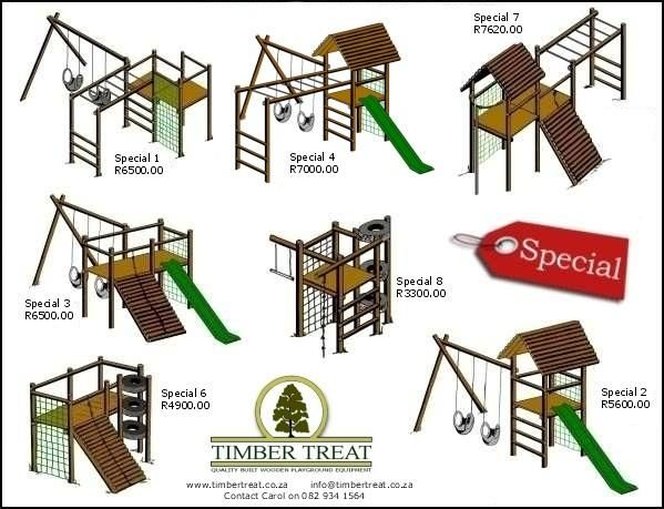 Wooden Jungle Gyms Supplied And Installed Childrens Play