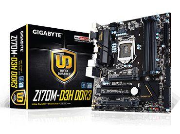 Mother Gigabyte GA-Z170M-D3H DDR3 Socket 1151