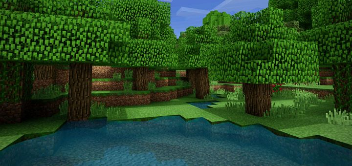 Blpe Shaders Turns Minecraft Into Something Much More Beautiful To Experience The Colors For The Grass Leaves And Other Terrain Blocks Look Much More Vibrant