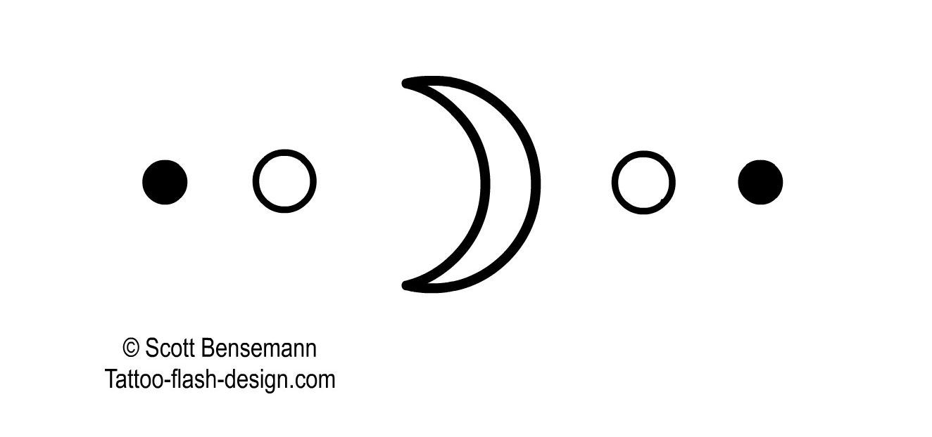 Moon tattoo simple google search 07placement pinterest amazing and beautiful tattoo on the topic crescent moon tattoo flash biocorpaavc Gallery
