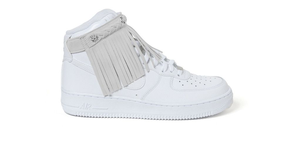 Sacai Unveils New Moccasin Fringe Nike Air Force 1 Model   Hybrid Apparel   Air  AMP  Apparel  Force  Fringe  Hybrid  Moccasin  Model  Nike  sacai   Unveils ff3fa8118