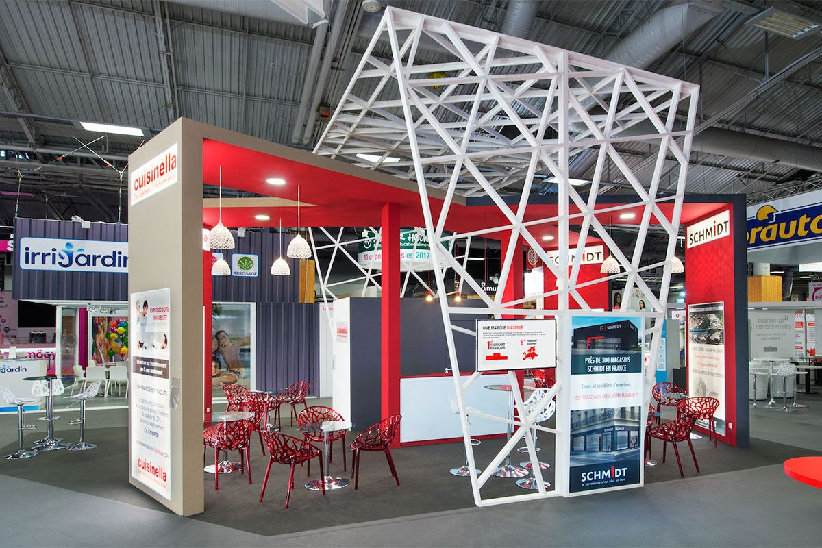 Schmidt Cuisinella Exibition Design Installation Design