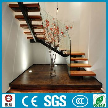 Best Contemporary Prefabricated Residential Steel Stringer Wood 400 x 300