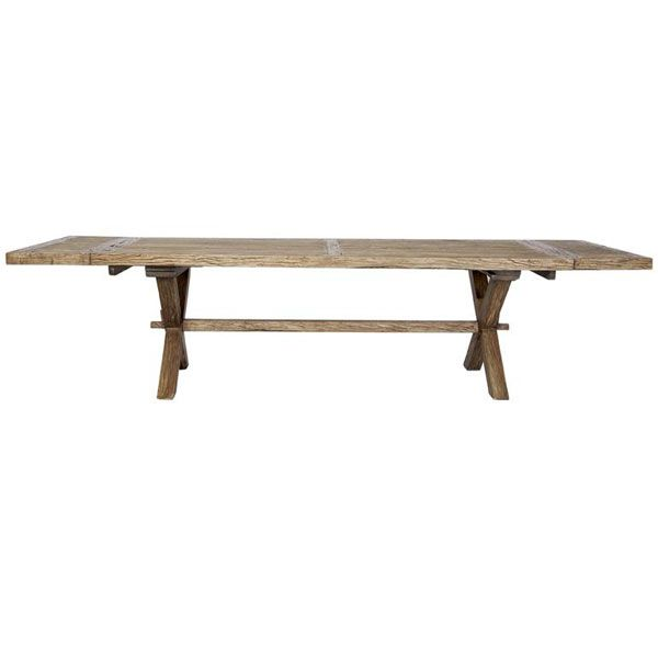 SOUTHHAMPTON Recycled Timber Dining Table - Reclaimed Elm $