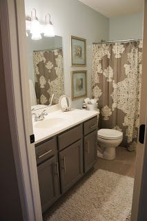 Photo of It's a pretty Prins life: Bathroom Redo- The Before, middle, after and the alway…