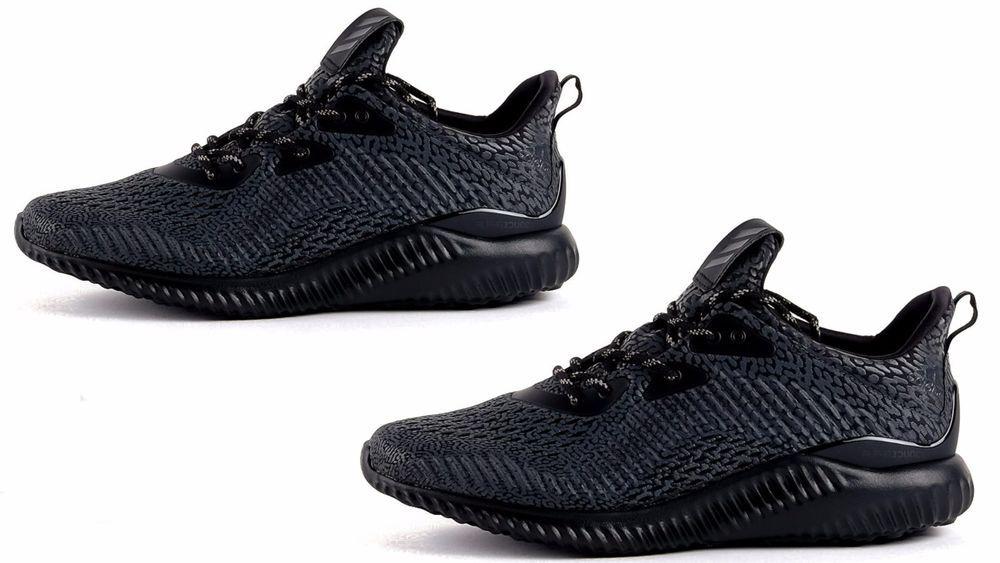 3a7f45f7dc700 Men s Adidas Originals ALPHABOUNCE AMS Core Black Running White BW0428   adidas  BW0428