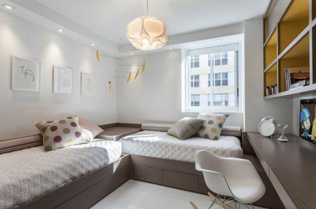 Petite chambre enfant petite chambre moderne amnage for Petite chambre enfant