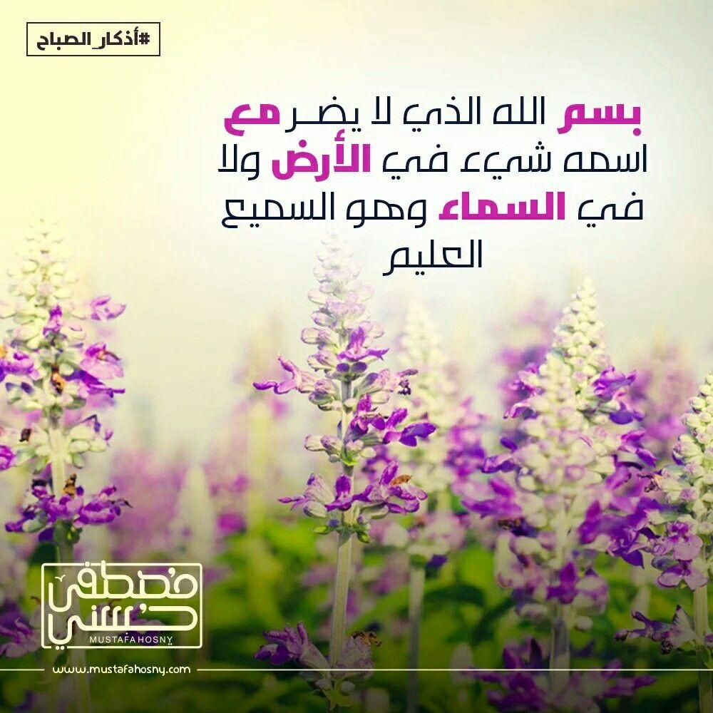 بسم الله الذي لا يضر مع اسمه شيء في الأرض ولا في السماء وهو السميع العليم Islamic Images Islamic Calligraphy Photo
