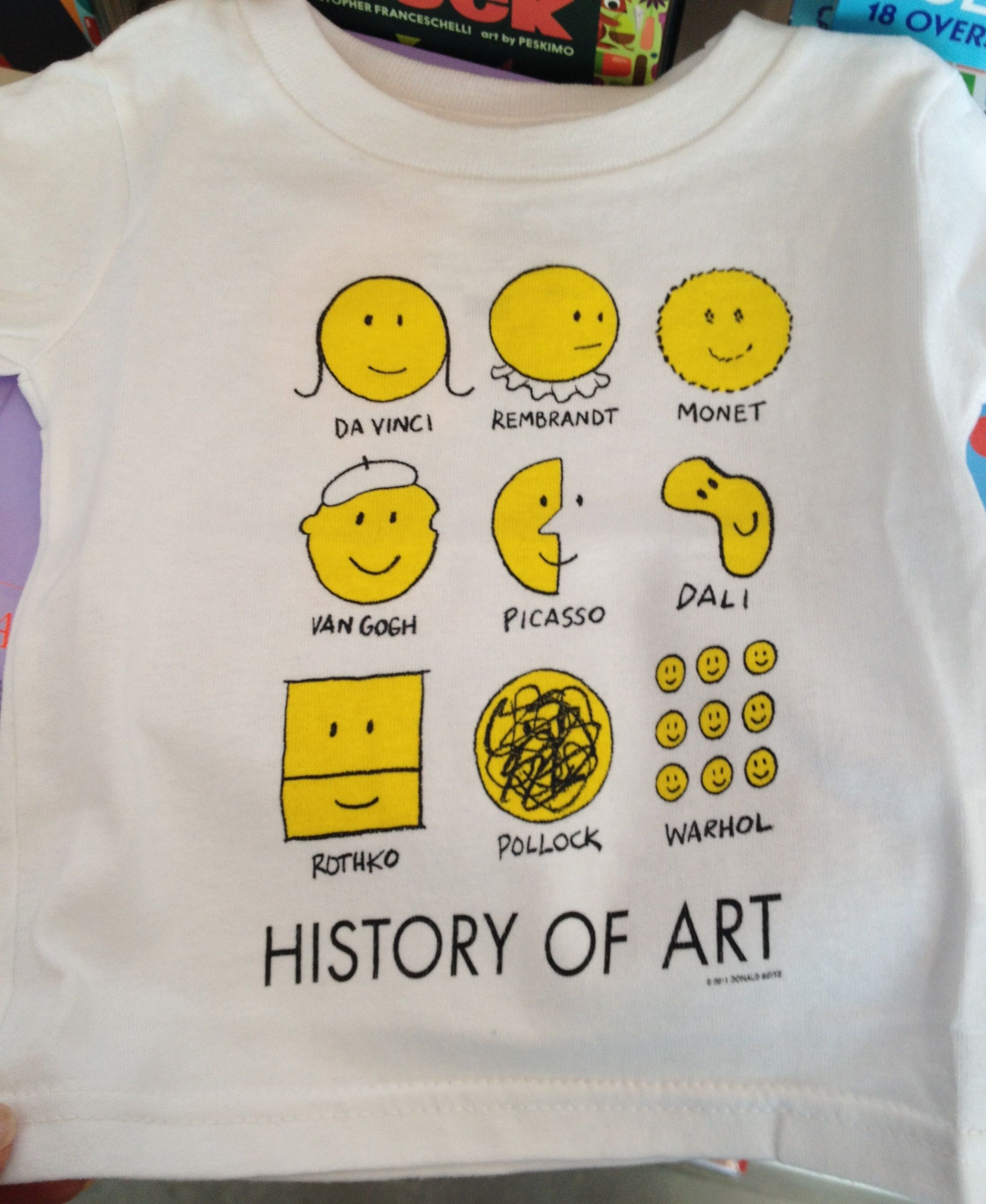 Cool t-shirt from ICA (Institute of Contemporary Art, in Boston)