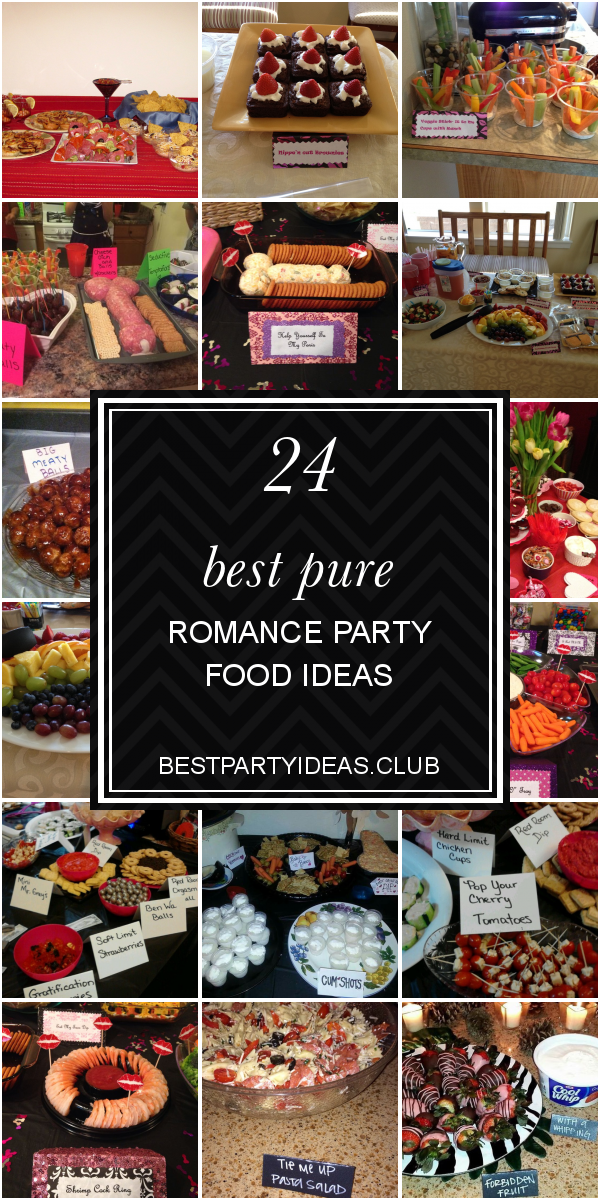 Pure Romance Party Food Ideas New Party Food Ideas And Recipes Pure Romance Party Food Pure Romance Party Halloween Food Appetizers