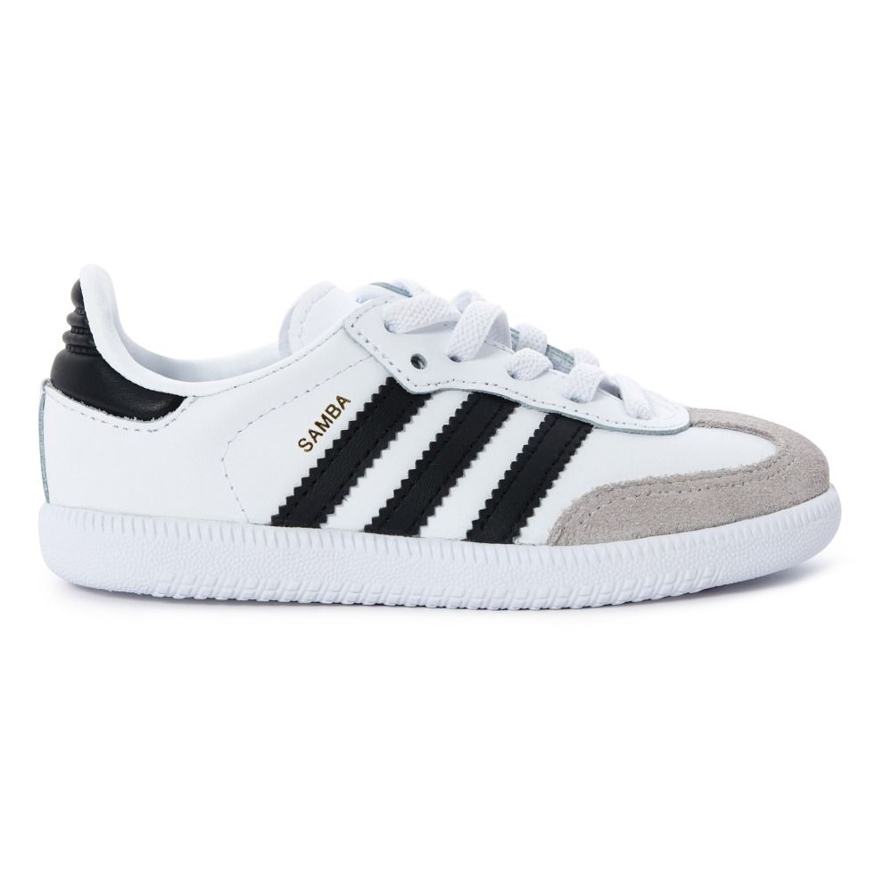 wholesale online huge selection of low price Baskets Lacets Cuir Samba Blanc | shoes | Adidas, Adidas ...