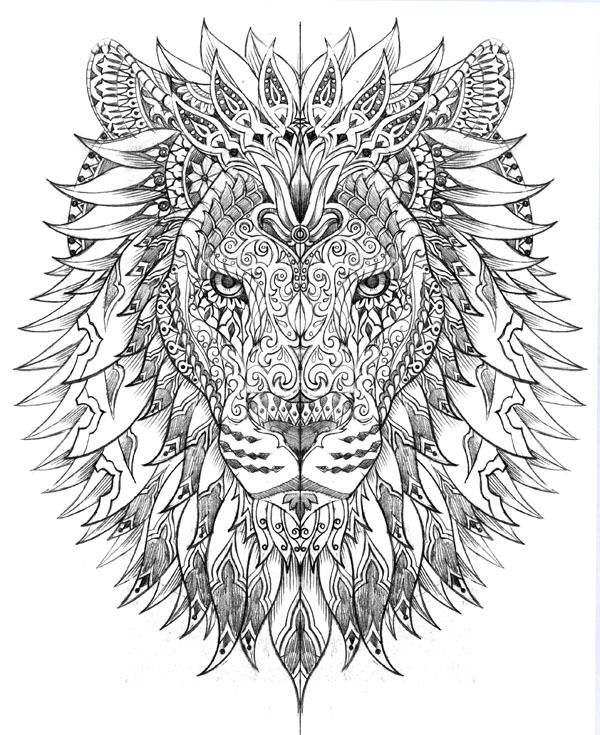 American Hippie Art ~ Lion | Tattoos | Pinterest